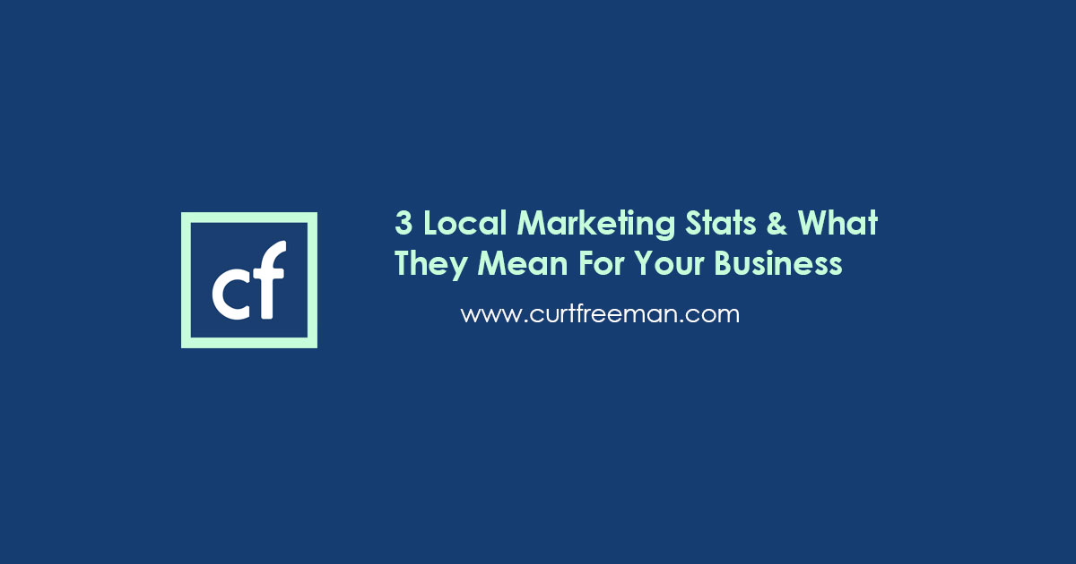 3 Local Marketing Stats & What They Mean For Your Business