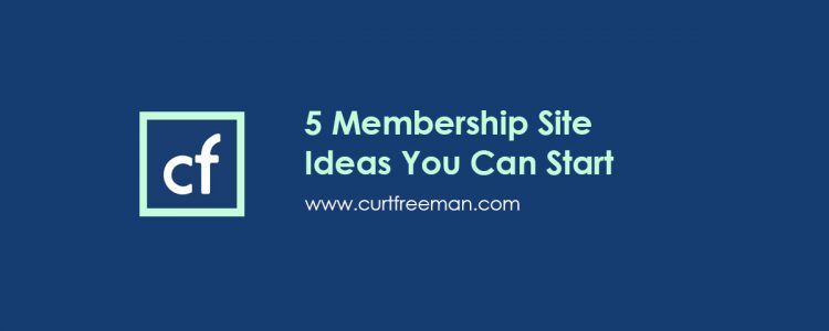 5 membership ideas you can start now